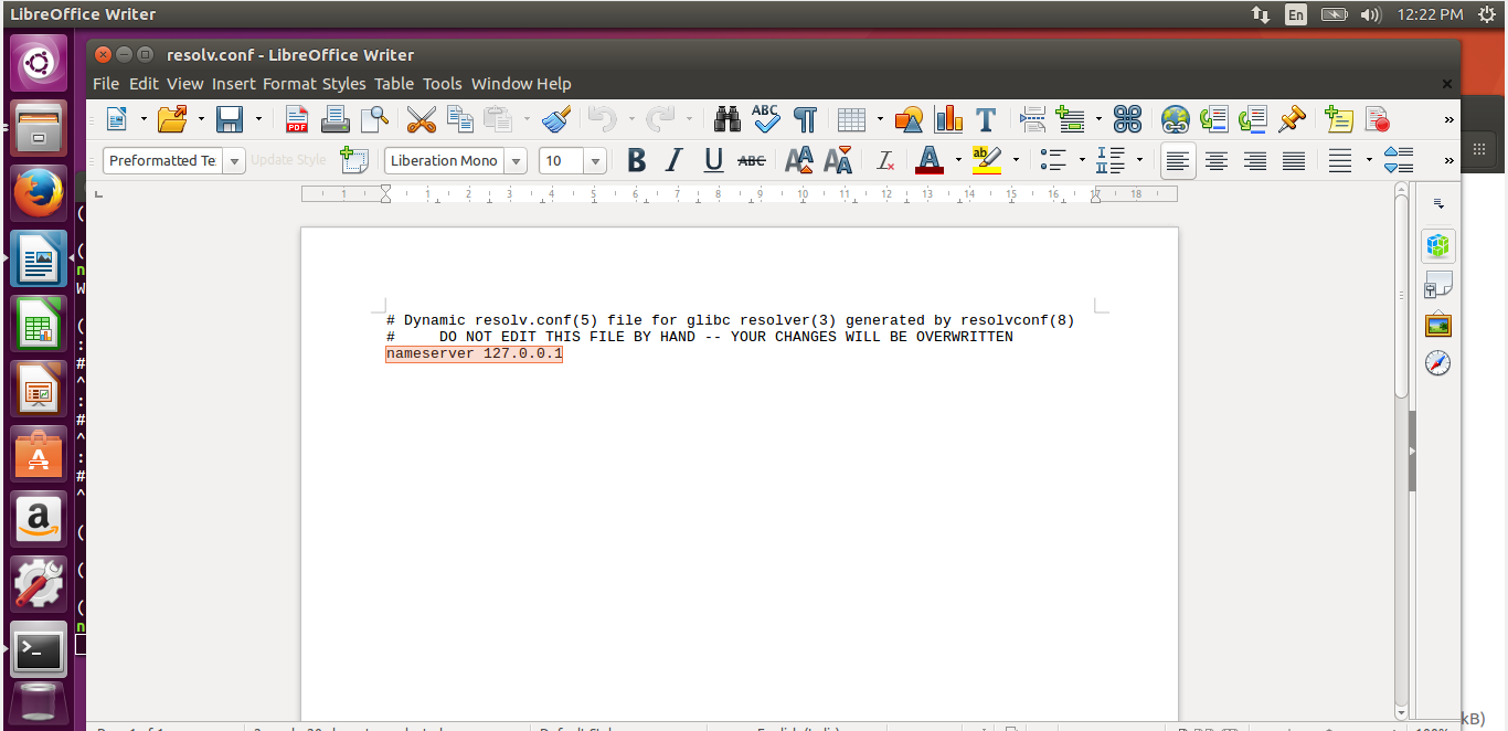 nameserver-linux-dns